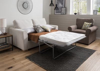 Zoe sofa bed fold out